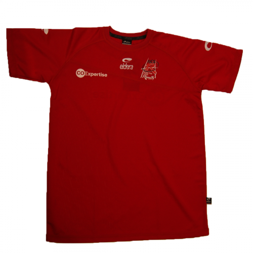 MAILLOT ECHAUFFEMENT CO EXP ROUGE
